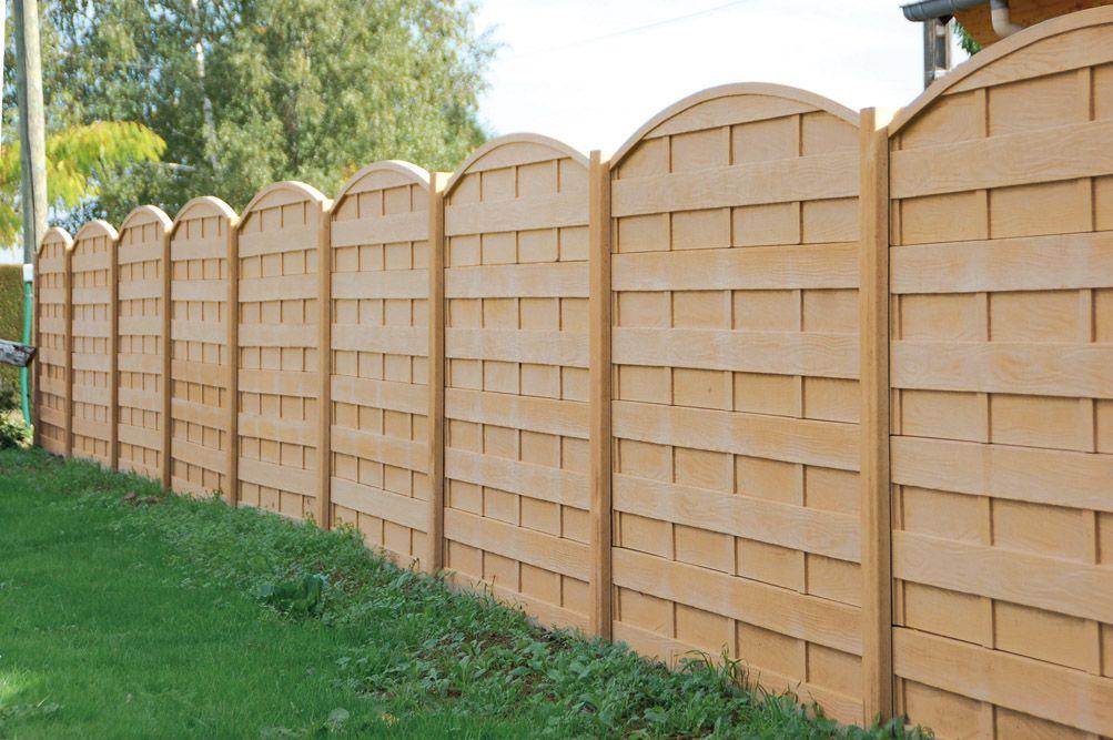 panneaux b lem atout clotures b ton bois rigide semi rigide simple torsion cr vecoeur. Black Bedroom Furniture Sets. Home Design Ideas