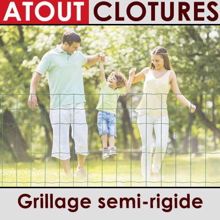 grillage semi rigide atout clotures b ton bois. Black Bedroom Furniture Sets. Home Design Ideas