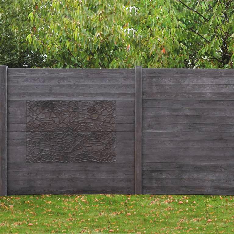 panneaux bacara atout clotures b ton bois rigide. Black Bedroom Furniture Sets. Home Design Ideas