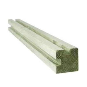 planche emboitable avec les poteaux bois atout clotures. Black Bedroom Furniture Sets. Home Design Ideas