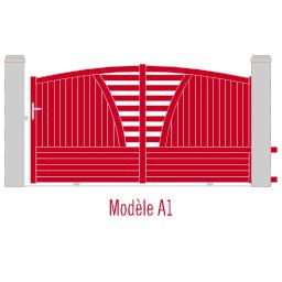 Portail Andalousite modèle A1