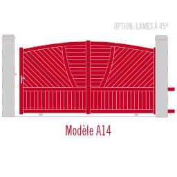 Portail Andalousite modèle A14