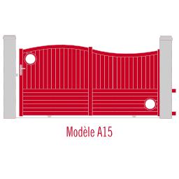 Portail Andalousite modèle A15