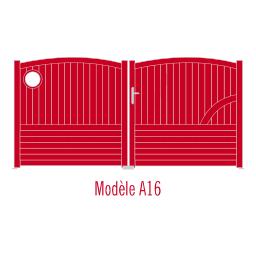 Portail Andalousite modèle A16