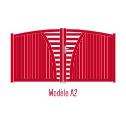 Portail Andalousite modèle A2