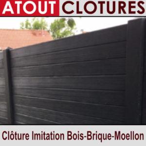 Clôture Béton Imitation